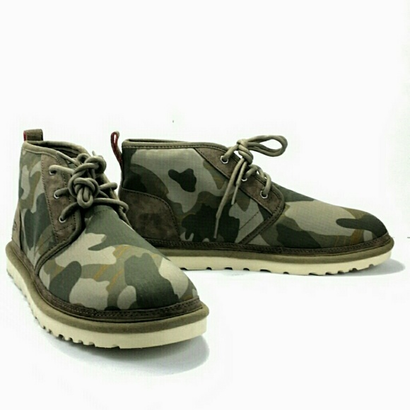2fd8e2a785f UGG Neumel Camo Ripstop Ankle Boots Size 11 M510 NWT